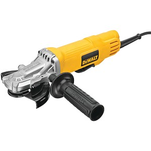 Dewalt DWE4120FN 4-1/2 IN. - 5 IN. FLATHEAD PADDLE SWITCH SMALL ANGLE GRINDER WITH NO LOCK-ON
