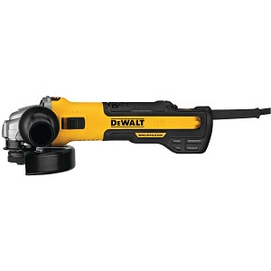 Dewalt DWE43240INOX 5 in. / 6 in. Brushless Small Angle Grinder with Variable Speed Slide Switch, INOX