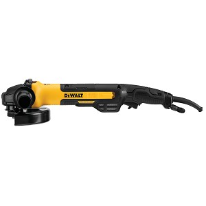 Dewalt DWE43840CN 7 IN. BRUSHLESS SMALL ANGLE GRINDER, RAT TAIL, WITH KICKBACK BRAKE, NO LOCK, PIPELINE COVER
