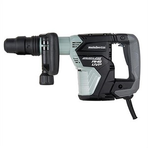 Hitachi / Metabo HPT H45MEY AC Brushless, AHB Aluminum Housing Body, UVP User Vibration Protection, AC/DC 16 lb SDS Max Demolition Hammer