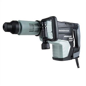 Hitachi / Metabo HPT H60MEY AC Brushless, AHB Aluminum Housing Body, UVP User Vibration Protection, AC/DC 27 lb SDS Max Demolition Hammer
