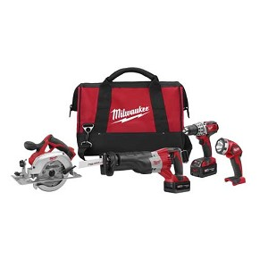 Milwaukee 2691-24 M18™ Cordless LITHIUM-ION 4-Tool Combo Kit