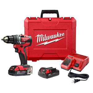 Milwaukee 2801 Cordless M18 Compact Brushless 1/2