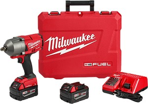 Milwaukee 2862-22 M18 FUEL™ w/ ONE-KEY™ High Torque Impact Wrench 1/2