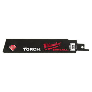 Milwaukee 48-00-1440 SAWZALL™ THE TORCH™ Diamond Grit Blade 6