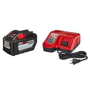 Milwaukee 48-59-1200 M18 REDLITHIUM™ HIGH OUTPUT™ HD12.0 Battery Pack w/ Rapid Charger