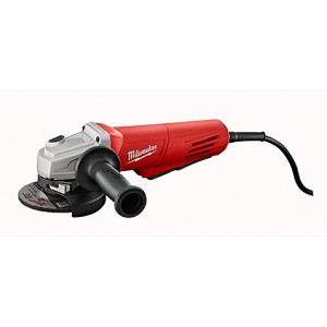 Milwaukee 6146-30 11 Amp Corded 4-1/2 in. Angle Grinder with Paddle and Lock-On Swith